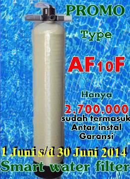 Promo Pasang Filter air Bogor Bulan 2014
