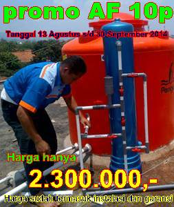 Promo pasang filter air Bulan September 2014