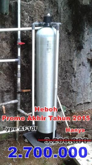 Promo Pemasangan Filter air bulan Desember 2015