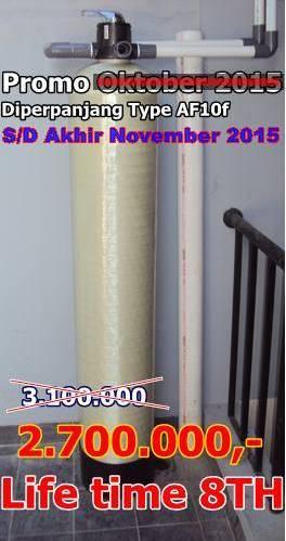 Promo Pemasangan Filter air bulan November 2015