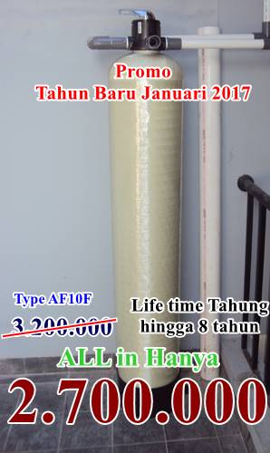 Promo Pemasangan Filter air Bulan Januari 2017