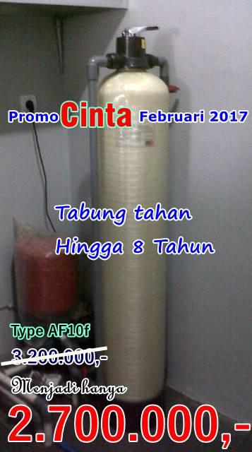 Promo Pemasangan Filter air Bulan Februari 2017