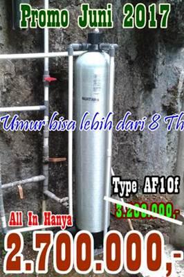 Promo Pemasangan Filter air Bulan Juni 2017