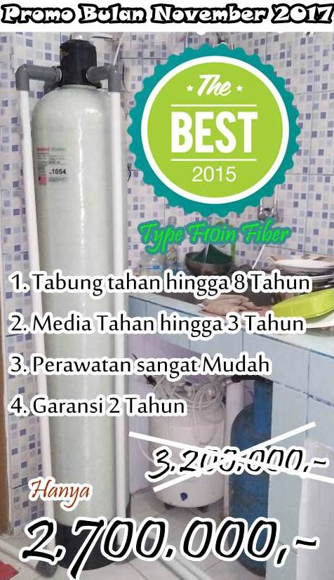 Promo Pasang Filter air Bulan November 2017