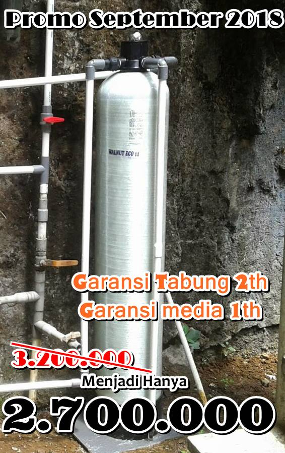 Promo Pasang Filter air Bulan September 2018