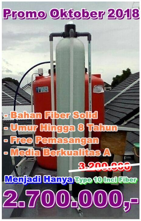 Promo Pasang Filter air Bulan Oktober 2019