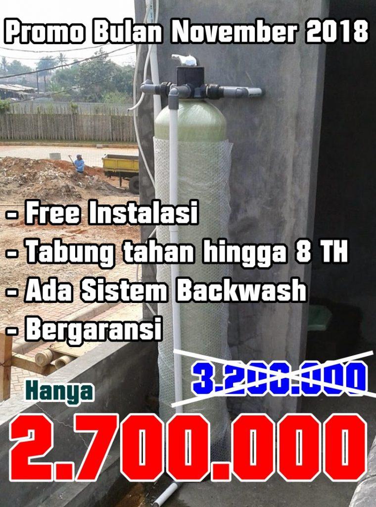 Promo Pasang Filter air Bulan November 2018