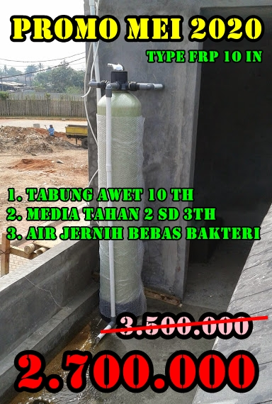 Promo Filter penyaring air mei 2020