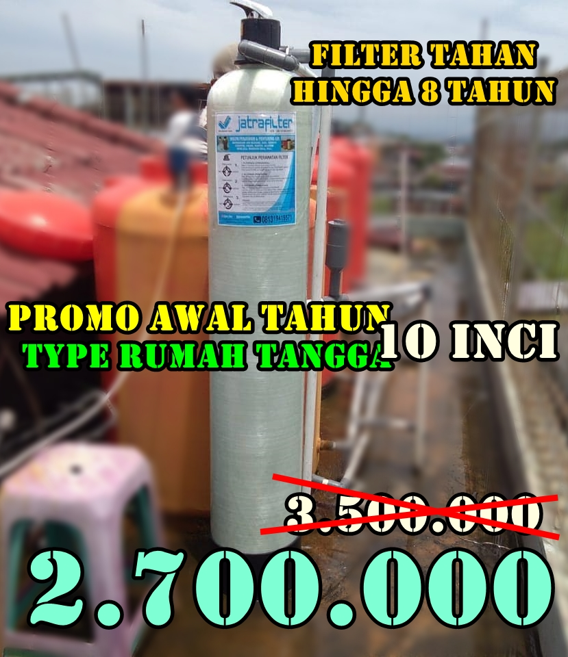 Promo pasang filter air  januari 2020